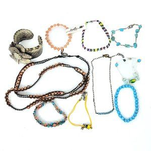 Mixed lot of Boho Bracelets and Necklaces